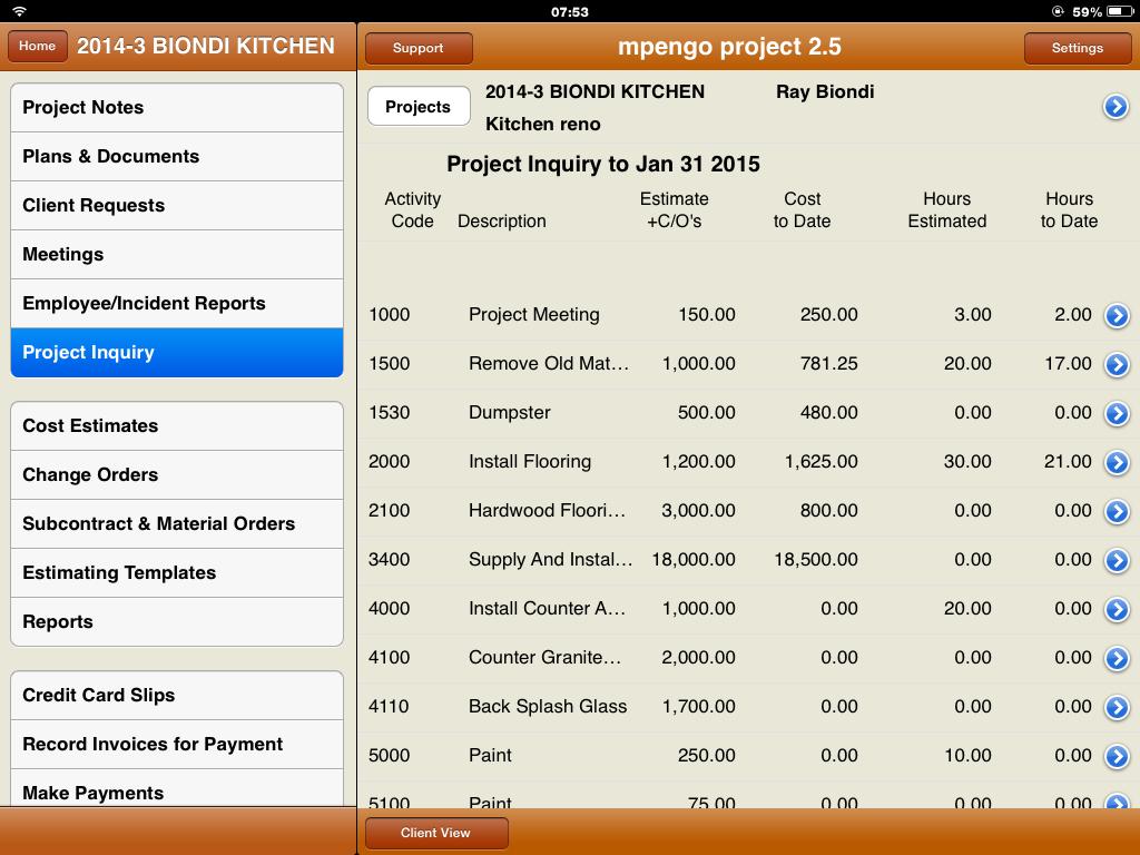 Project Inquiry